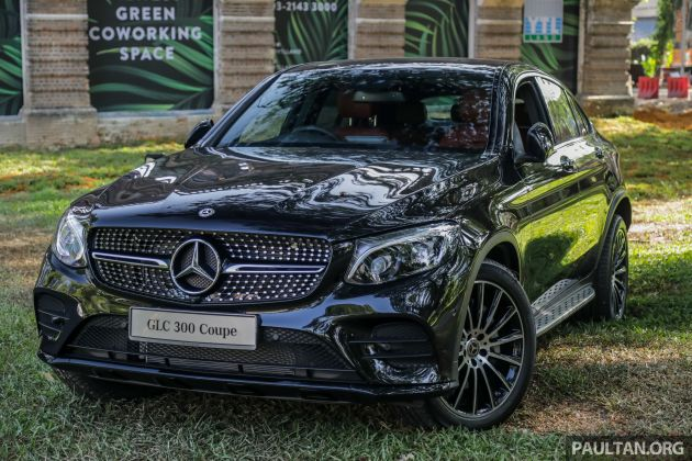 C253 Mercedes Benz Glc300 4matic Coupe Debuts In Malaysia