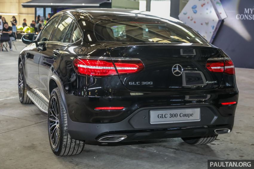 C253 Mercedes-Benz GLC300 4Matic Coupe debuts in Malaysia – CKD; estimated price from RM399,888 Image #937114