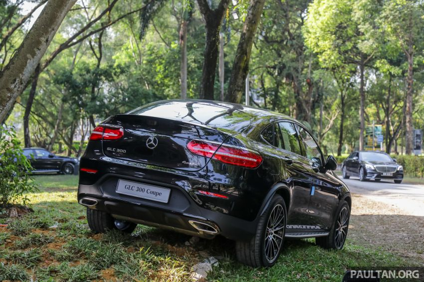 C253 Mercedes-Benz GLC300 4Matic Coupe debuts in Malaysia – CKD; estimated price from RM399,888 Image #937287