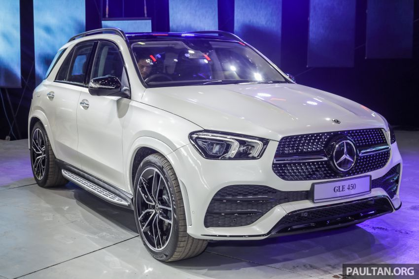 V167 Mercedes-Benz GLE450 previewed, RM634k est Image #937266