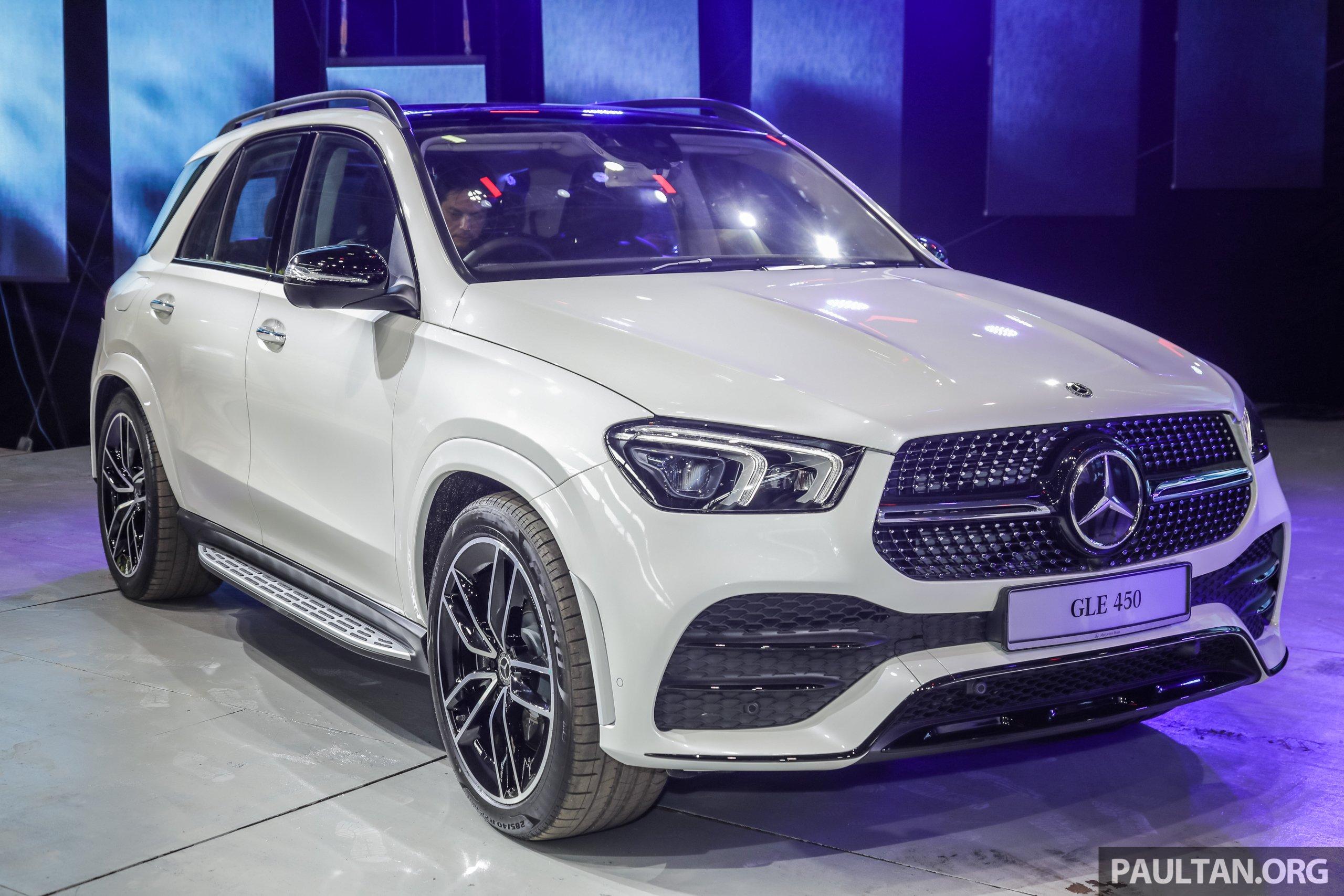 V167 Mercedes Benz Gle450 Previewed Rm634k Est Paultan Org