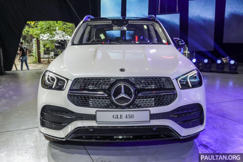Mercedes-Benz GLE450 AMG Line V167 dipertonton di Malaysia – harga jangkaan bermula RM633,888 Image #937248