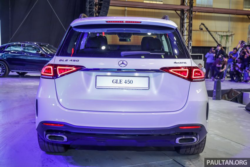 V167 Mercedes-Benz GLE450 previewed, RM634k est Image #937270