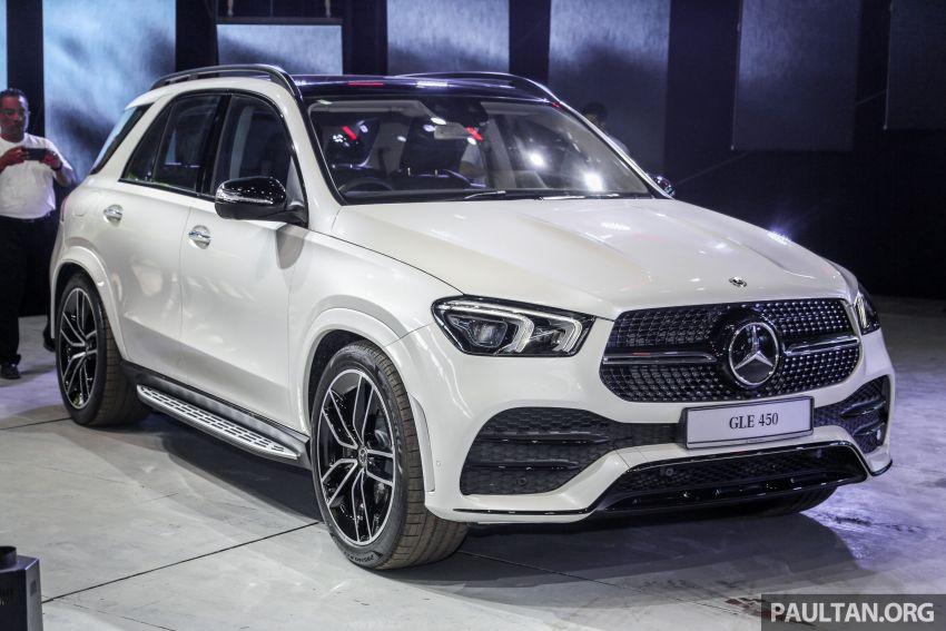 V167 Mercedes-Benz GLE450 previewed, RM634k est Image #937471