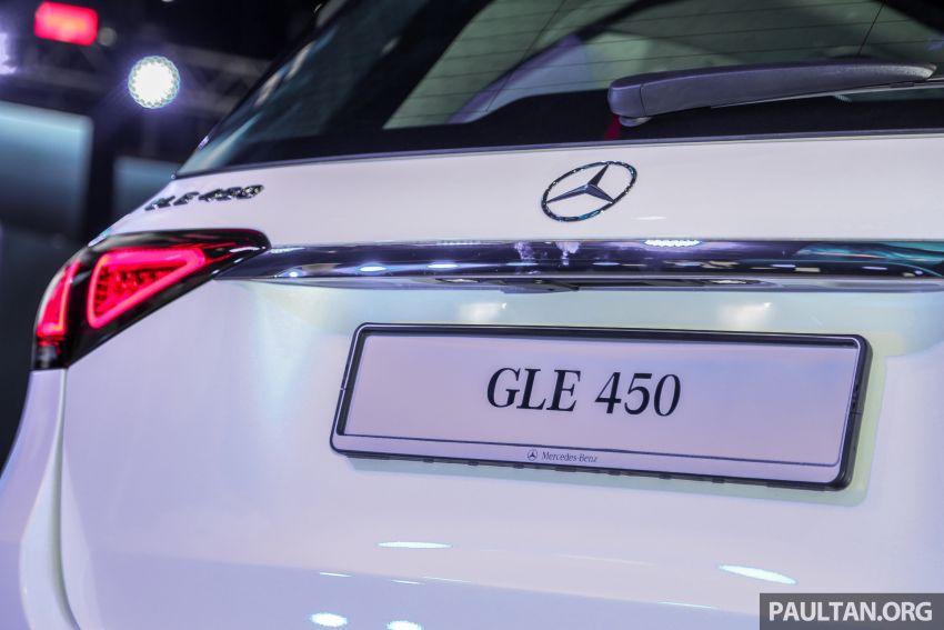 Mercedes-Benz GLE450 AMG Line V167 dipertonton di Malaysia – harga jangkaan bermula RM633,888 Image #937401