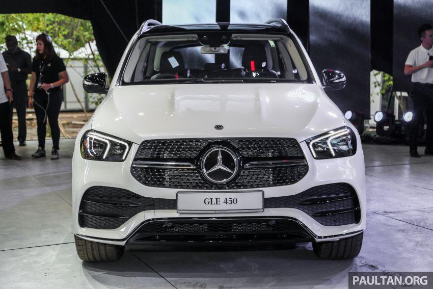 V167 Mercedes-Benz GLE450 previewed, RM634k est Image #937475