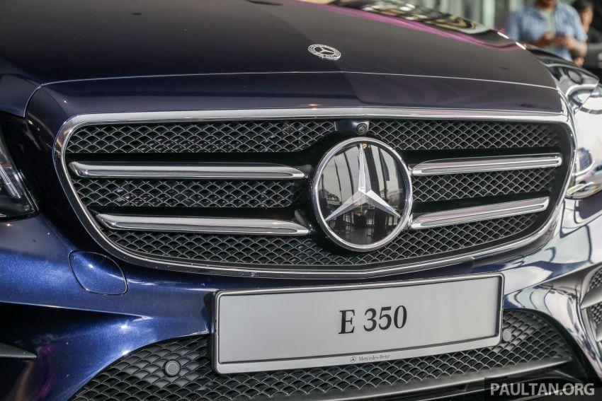 Mercedes-Benz E350 W213 2019 dilancarkan di M'sia – hibrid ringkas 48-volt, 299 hp/400Nm, RM399,888 Image #930462