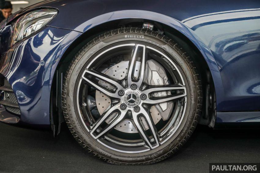 Mercedes-Benz E350 W213 2019 dilancarkan di M'sia – hibrid ringkas 48-volt, 299 hp/400Nm, RM399,888 Image #930465