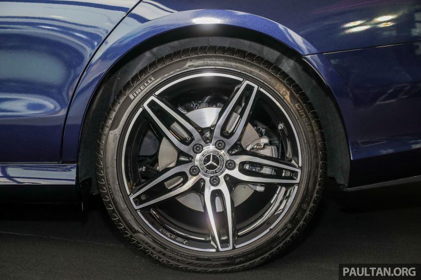 Mercedes-Benz E350 W213 2019 dilancarkan di M'sia – hibrid ringkas 48-volt, 299 hp/400Nm, RM399,888 Image #930470