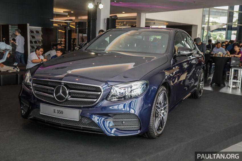 Mercedes-Benz E350 W213 2019 dilancarkan di M'sia – hibrid ringkas 48-volt, 299 hp/400Nm, RM399,888 Image #930451