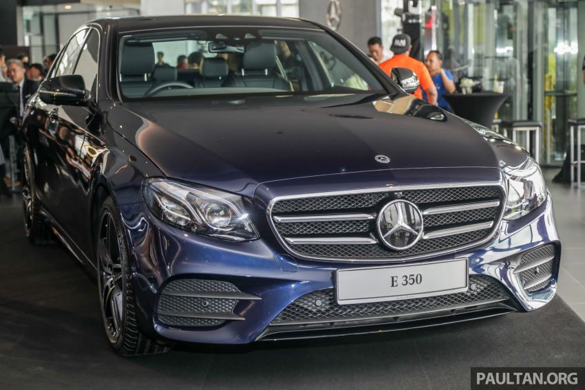 2019 W213 Mercedes-Benz E350 launched in Malaysia – new 48 V M264 engine with EQ Boost, RM399,888 Image #930373
