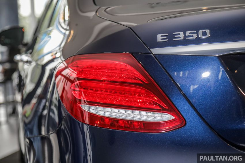 Mercedes-Benz E350 W213 2019 dilancarkan di M'sia – hibrid ringkas 48-volt, 299 hp/400Nm, RM399,888 Image #930473