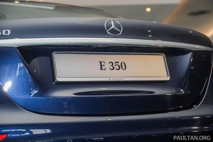 Mercedes-Benz E350 W213 2019 dilancarkan di M'sia – hibrid ringkas 48-volt, 299 hp/400Nm, RM399,888 Image #930475