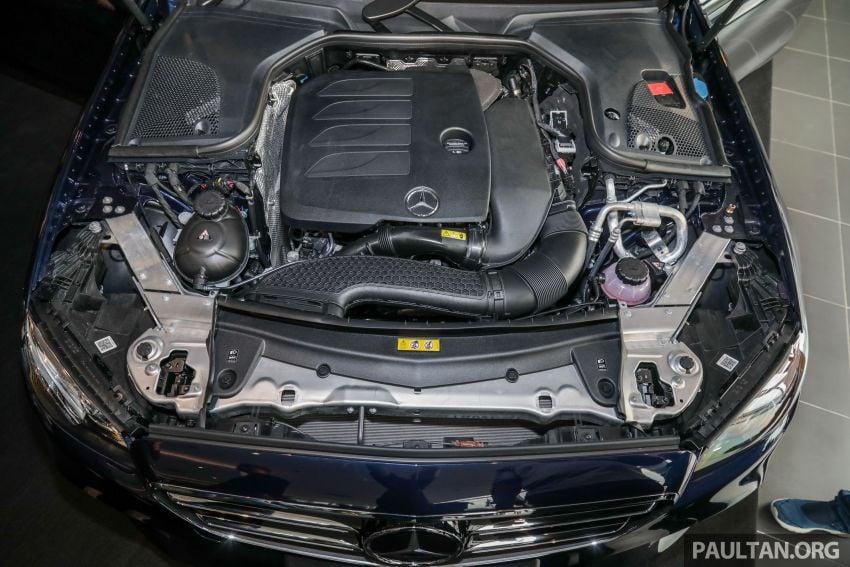 Mercedes-Benz E350 W213 2019 dilancarkan di M'sia – hibrid ringkas 48-volt, 299 hp/400Nm, RM399,888 Image #930478