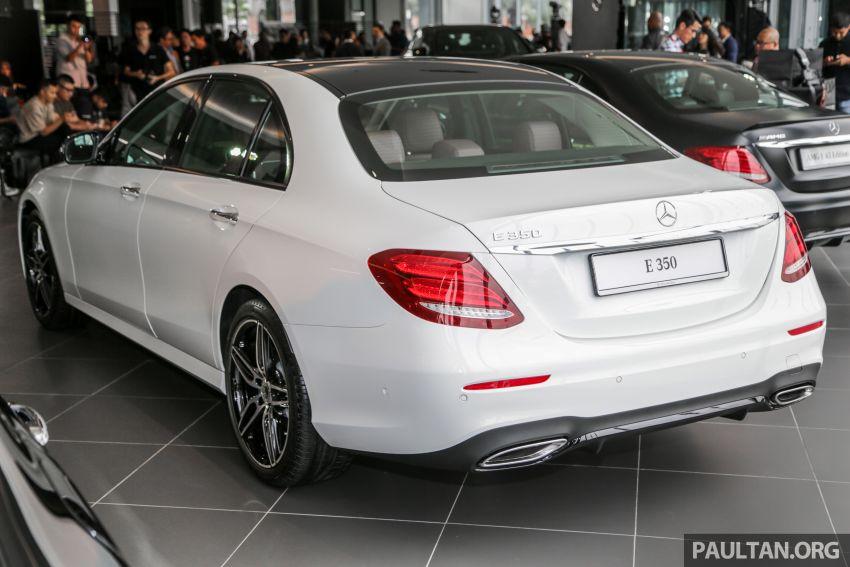 Mercedes-Benz E350 W213 2019 dilancarkan di M'sia – hibrid ringkas 48-volt, 299 hp/400Nm, RM399,888 Image #930482