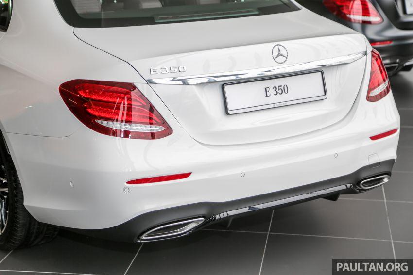Mercedes-Benz E350 W213 2019 dilancarkan di M'sia – hibrid ringkas 48-volt, 299 hp/400Nm, RM399,888 Image #930484
