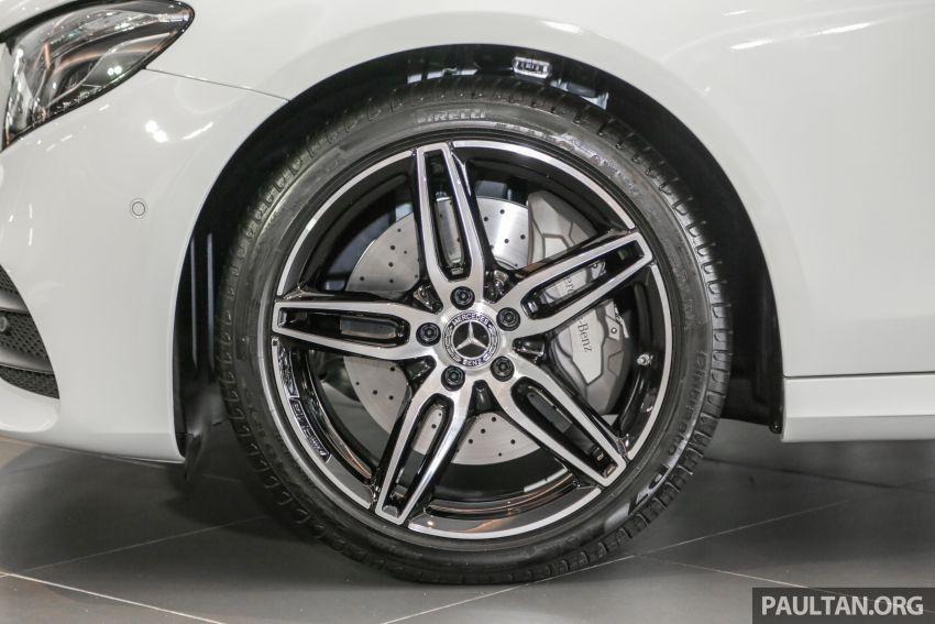 Mercedes-Benz E350 W213 2019 dilancarkan di M'sia – hibrid ringkas 48-volt, 299 hp/400Nm, RM399,888 Image #930485