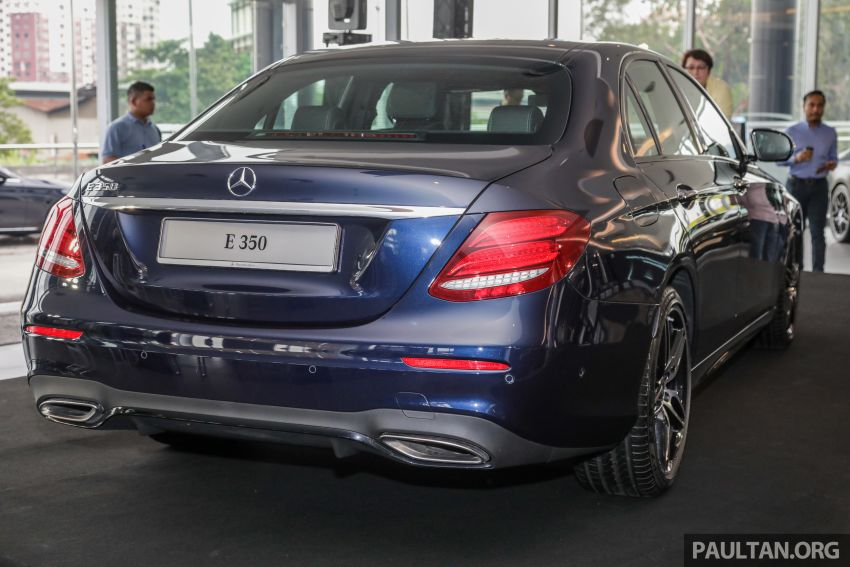 2019 W213 Mercedes-Benz E350 launched in Malaysia – new 48 V M264 engine with EQ Boost, RM399,888 Image #930375