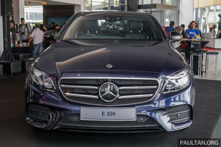 Mercedes-Benz E350 W213 2019 dilancarkan di M'sia – hibrid ringkas 48-volt, 299 hp/400Nm, RM399,888 Image #930456