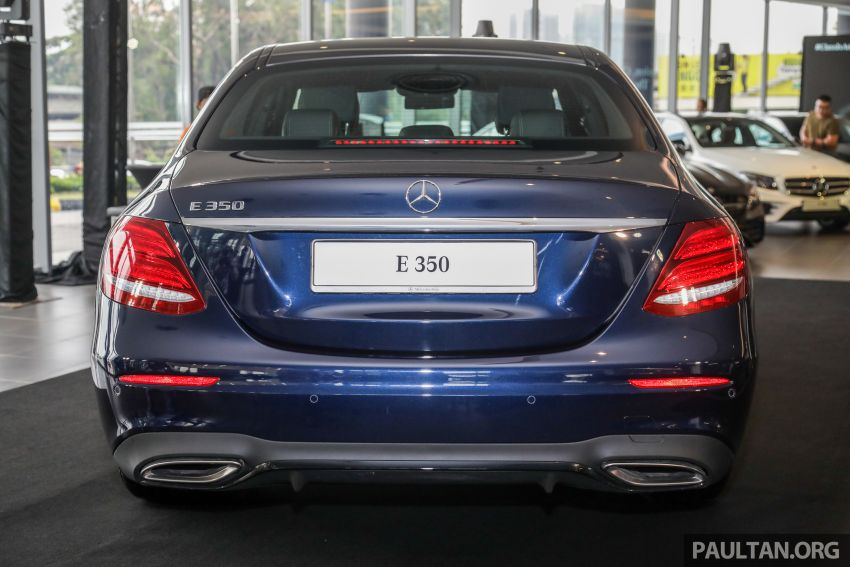 2019 W213 Mercedes-Benz E350 launched in Malaysia – new 48 V M264 engine with EQ Boost, RM399,888 Image #930377