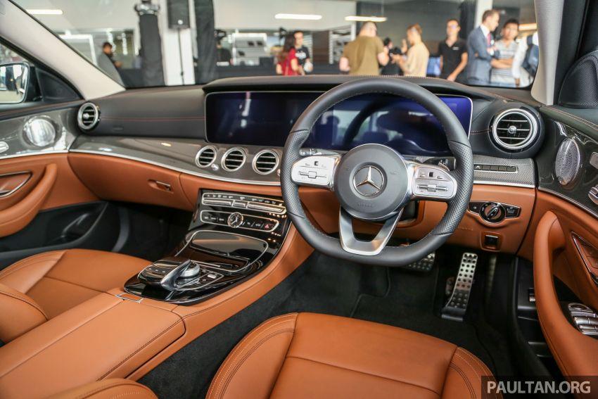 Mercedes-Benz E350 W213 2019 dilancarkan di M'sia – hibrid ringkas 48-volt, 299 hp/400Nm, RM399,888 Image #930506