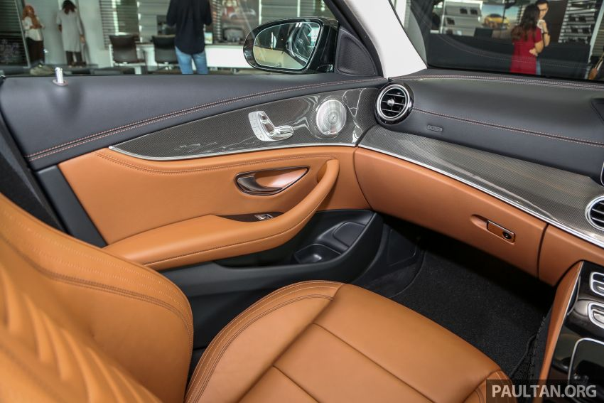 Mercedes-Benz E350 W213 2019 dilancarkan di M'sia – hibrid ringkas 48-volt, 299 hp/400Nm, RM399,888 Image #930508