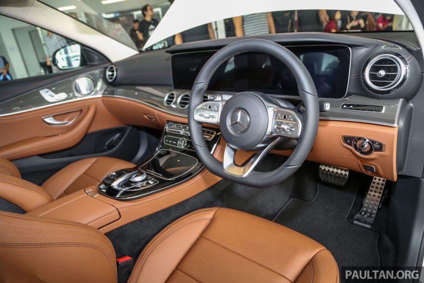 Mercedes-Benz E350 W213 2019 dilancarkan di M'sia – hibrid ringkas 48-volt, 299 hp/400Nm, RM399,888 Image #930486