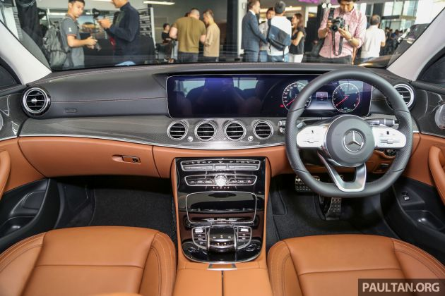 2019 W213 Mercedes-Benz E350 launched in Malaysia - new 48 V