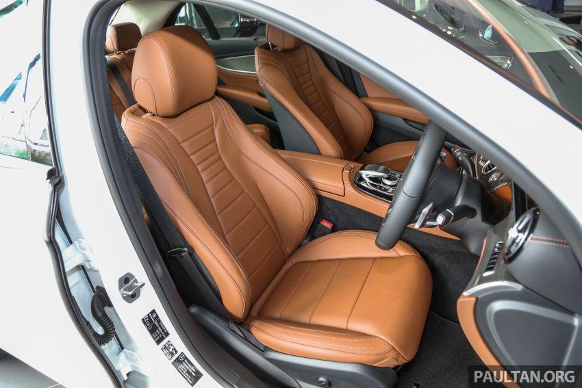 Mercedes-Benz E350 W213 2019 dilancarkan di M'sia – hibrid ringkas 48-volt, 299 hp/400Nm, RM399,888 Image #930519