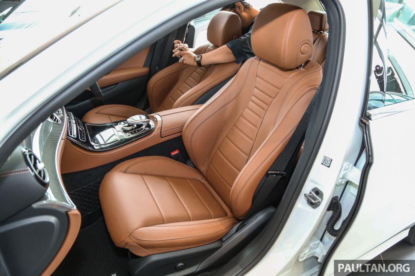 Mercedes-Benz E350 W213 2019 dilancarkan di M'sia – hibrid ringkas 48-volt, 299 hp/400Nm, RM399,888 Image #930522