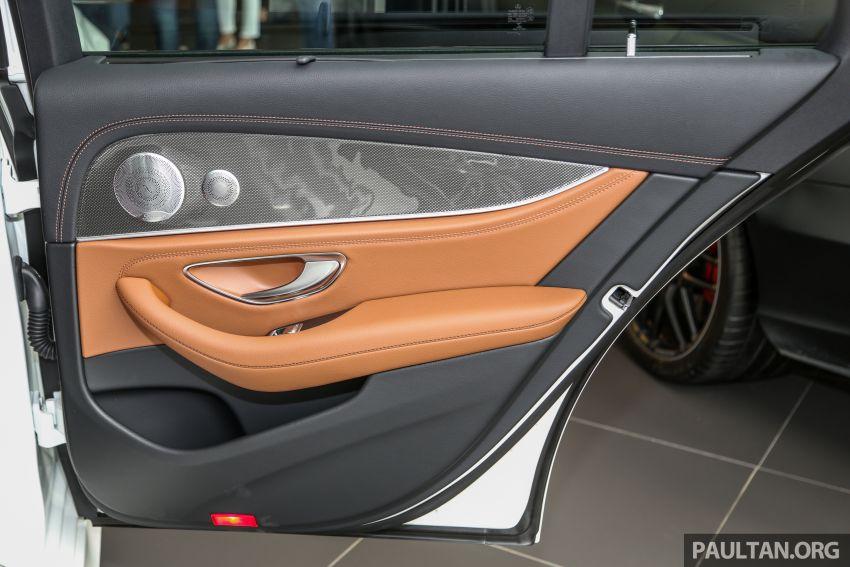 Mercedes-Benz E350 W213 2019 dilancarkan di M'sia – hibrid ringkas 48-volt, 299 hp/400Nm, RM399,888 Image #930525