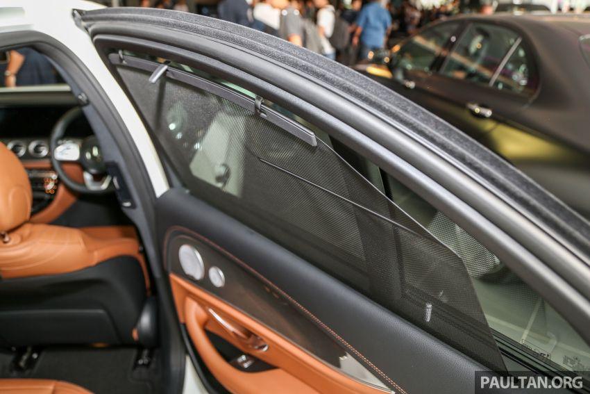 Mercedes-Benz E350 W213 2019 dilancarkan di M'sia – hibrid ringkas 48-volt, 299 hp/400Nm, RM399,888 Image #930527