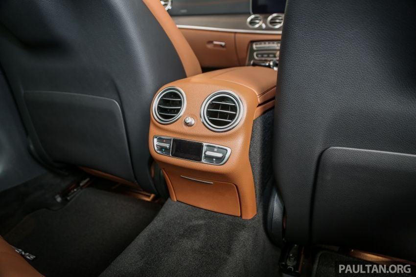 Mercedes-Benz E350 W213 2019 dilancarkan di M'sia – hibrid ringkas 48-volt, 299 hp/400Nm, RM399,888 Image #930535