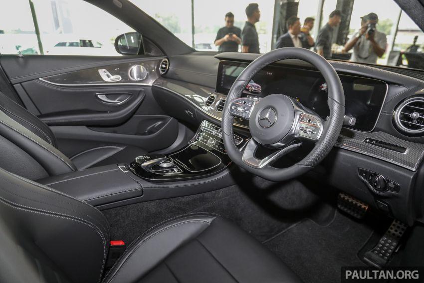 Mercedes-Benz E350 W213 2019 dilancarkan di M'sia – hibrid ringkas 48-volt, 299 hp/400Nm, RM399,888 Image #930547