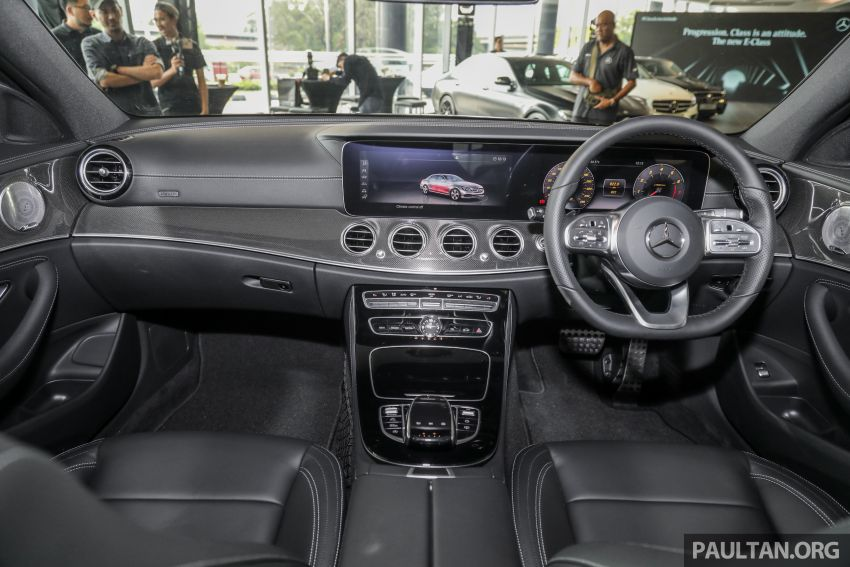 2019 W213 Mercedes-Benz E350 launched in Malaysia – new 48 V M264 engine with EQ Boost, RM399,888 Image #930440