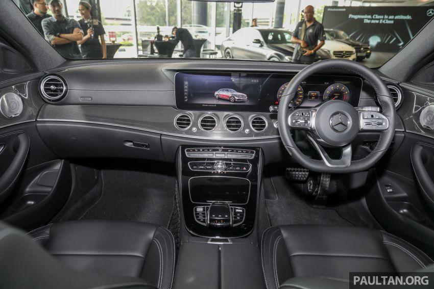 Mercedes-Benz E350 W213 2019 dilancarkan di M'sia – hibrid ringkas 48-volt, 299 hp/400Nm, RM399,888 Image #930549