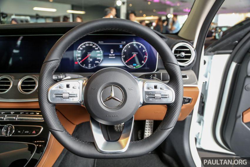 Mercedes-Benz E350 W213 2019 dilancarkan di M'sia – hibrid ringkas 48-volt, 299 hp/400Nm, RM399,888 Image #930488