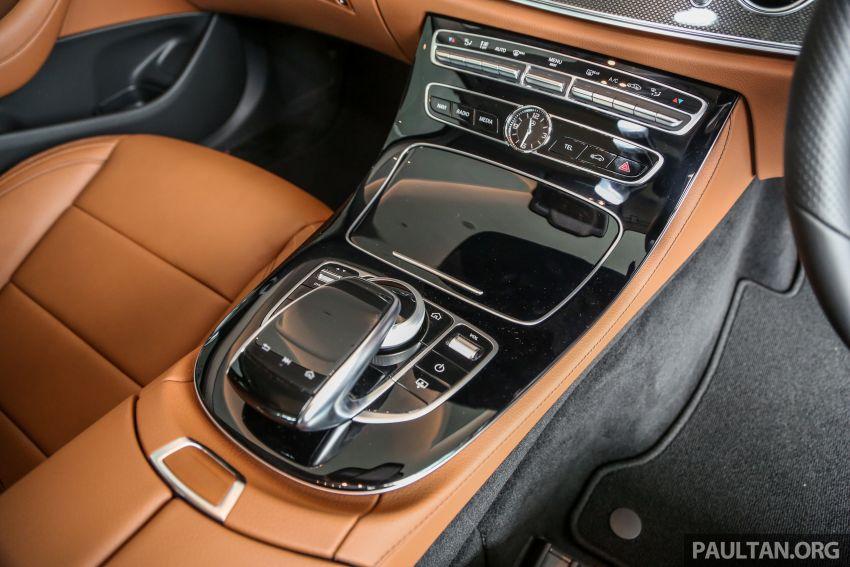 Mercedes-Benz E350 W213 2019 dilancarkan di M'sia – hibrid ringkas 48-volt, 299 hp/400Nm, RM399,888 Image #930496