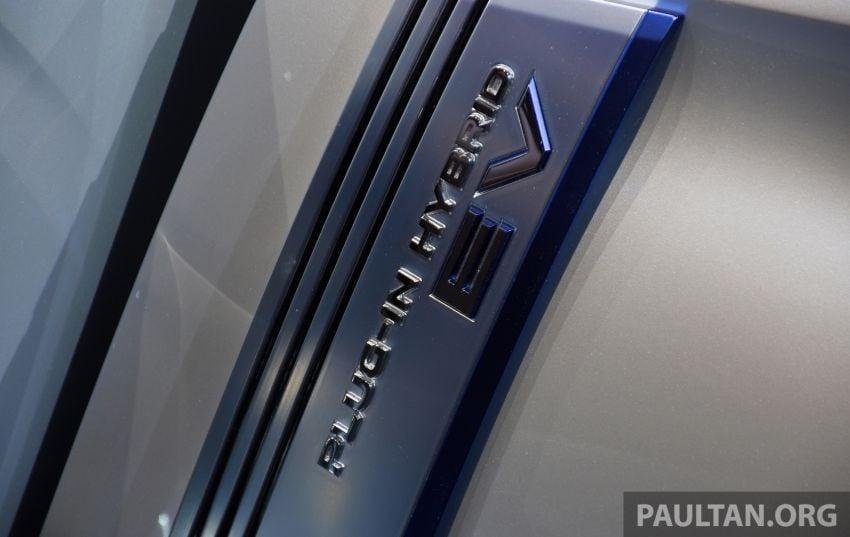 Mitsubishi Engelberg Tourer – PHEV SUV concept with 20 kWh battery, 70 km EV range, 700 km combined Image #932229