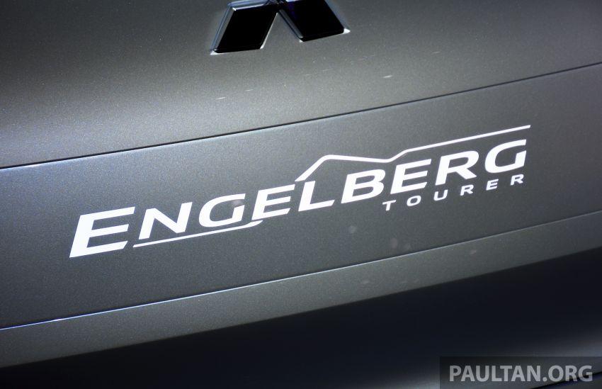 Mitsubishi Engelberg Tourer – PHEV SUV concept with 20 kWh battery, 70 km EV range, 700 km combined Image #932231