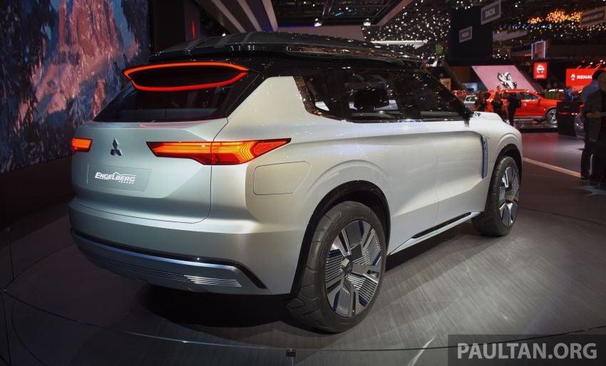 Mitsubishi Engelberg Tourer – PHEV SUV concept with 20 kWh battery, 70 km EV range, 700 km combined Image #932222