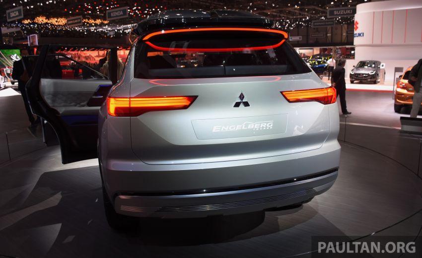 Mitsubishi Engelberg Tourer – PHEV SUV concept with 20 kWh battery, 70 km EV range, 700 km combined Image #932224