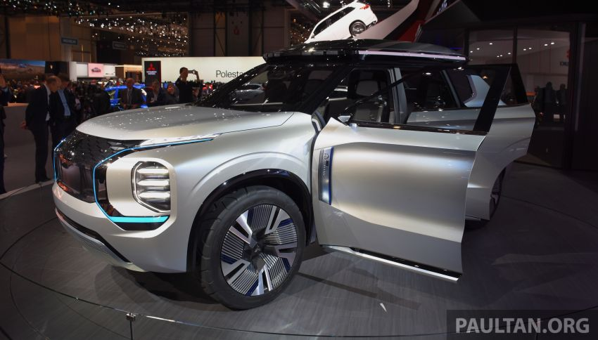 Mitsubishi Engelberg Tourer – PHEV SUV concept with 20 kWh battery, 70 km EV range, 700 km combined Image #932226