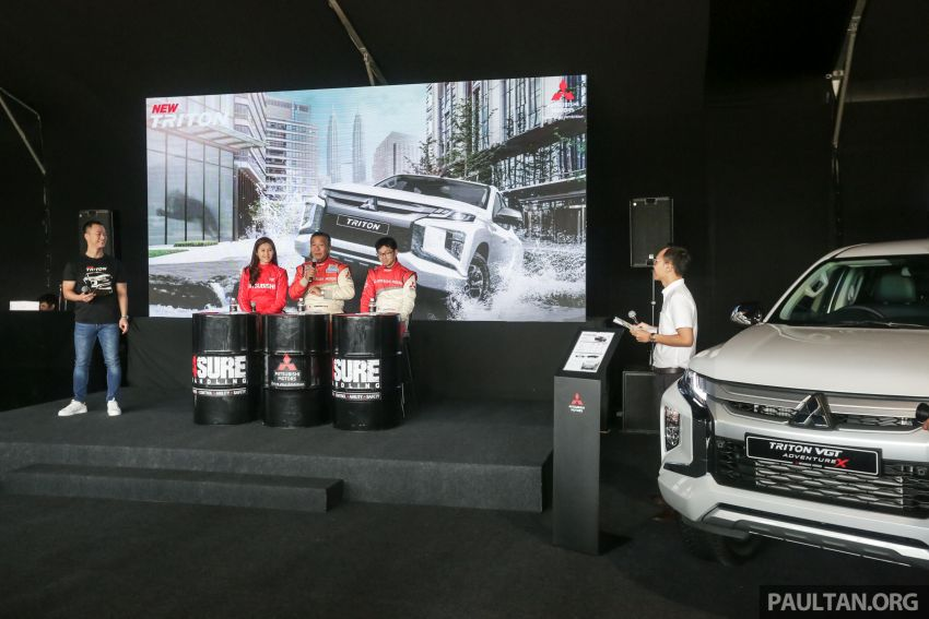 Mitsubishi 4Sure Thrill – pengalaman penuh aksi Image #931786