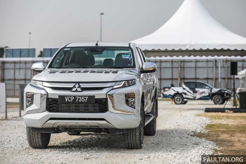 VIDEO: Mitsubishi 4Sure Thrill event – experiencing dirt drifting with Dakar Rally champ in the new Triton! Image #932053