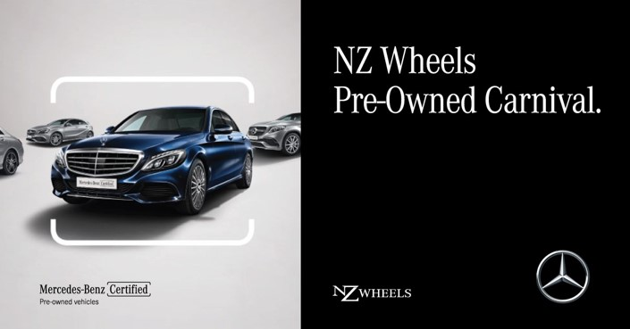 AD: Enjoy unbeatable deals on your dream Mercedes-Benz car at the NZ Wheels Pre-Owned Carnival 2019! Image #933471