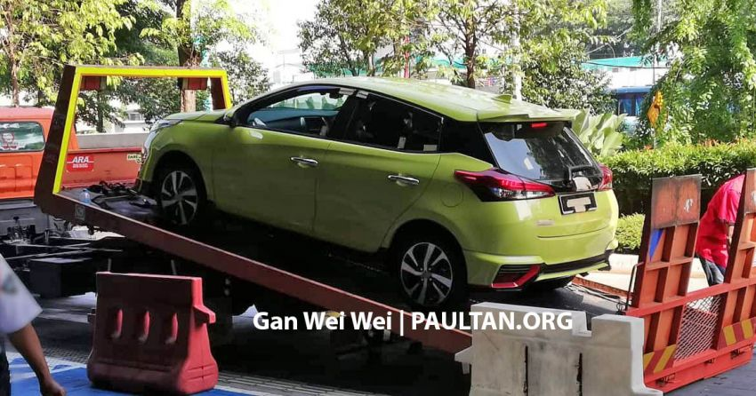 2019 Toyota Yaris spotted in M'sia again before launch Image #935433