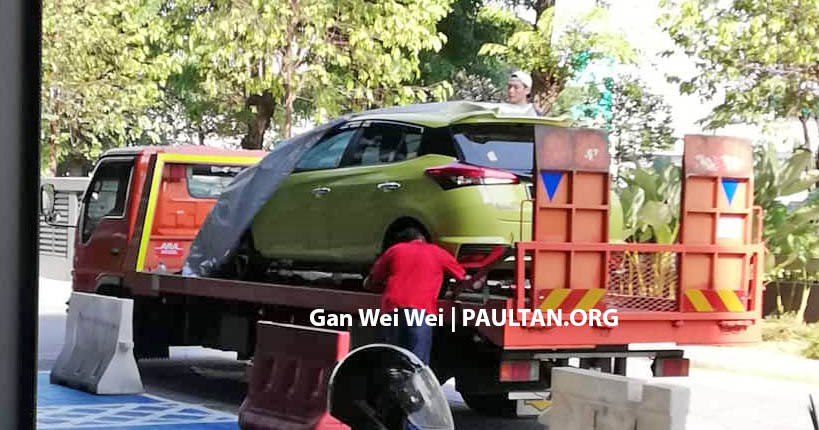 2019 Toyota Yaris spotted in M'sia again before launch Image #935434