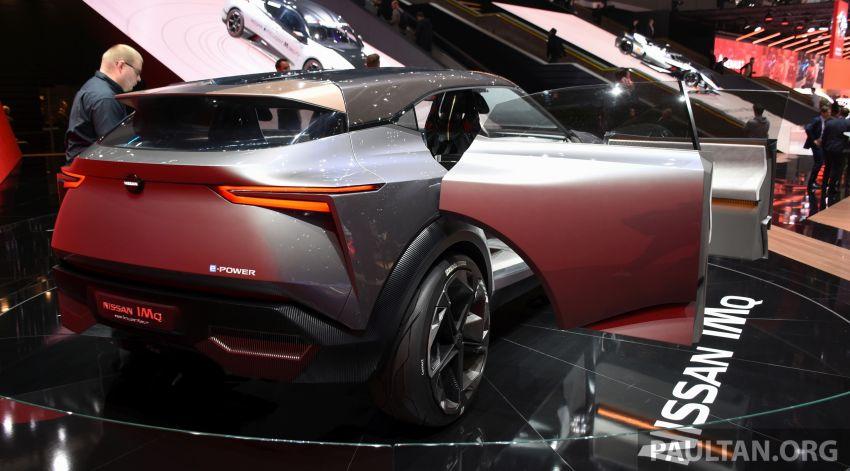 Nissan IMQ Concept pamer bahasa rekaan baharu Image #933265