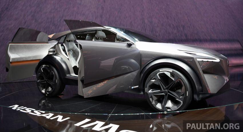 Nissan IMQ Concept pamer bahasa rekaan baharu Image #933269